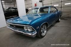 1966 Chevrolet Chevelle SS396 LF - Sheetmetal repair, bodywork, paint, fuel injection install.