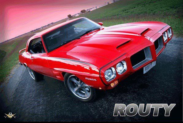 Routy 1969 Firebird
