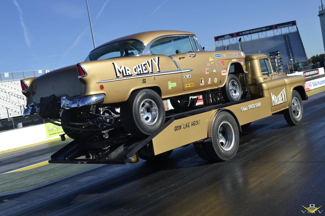 1955 Chevy Gasser Mr. Chevy