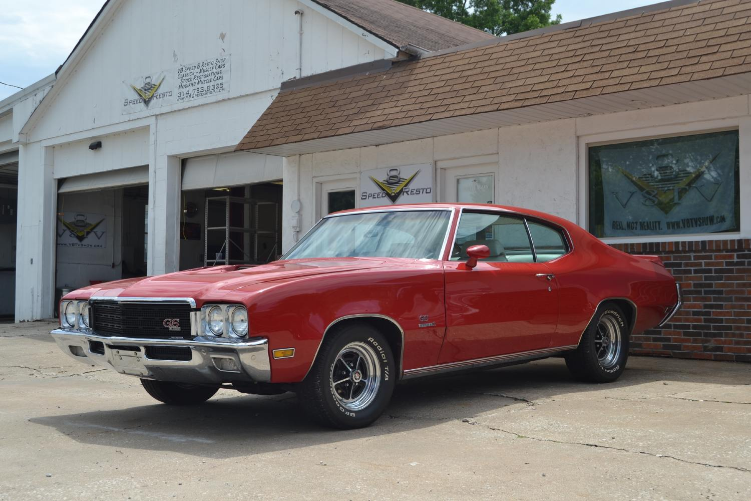1971 Buick GS 455 Stage 1 Maintenance At V8 Speed and Resto Shop