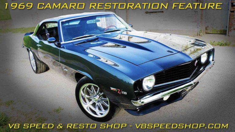 """1969 Camaro """"Carbon Flash"""" Restoration At V8 Speed & Resto Shop"""