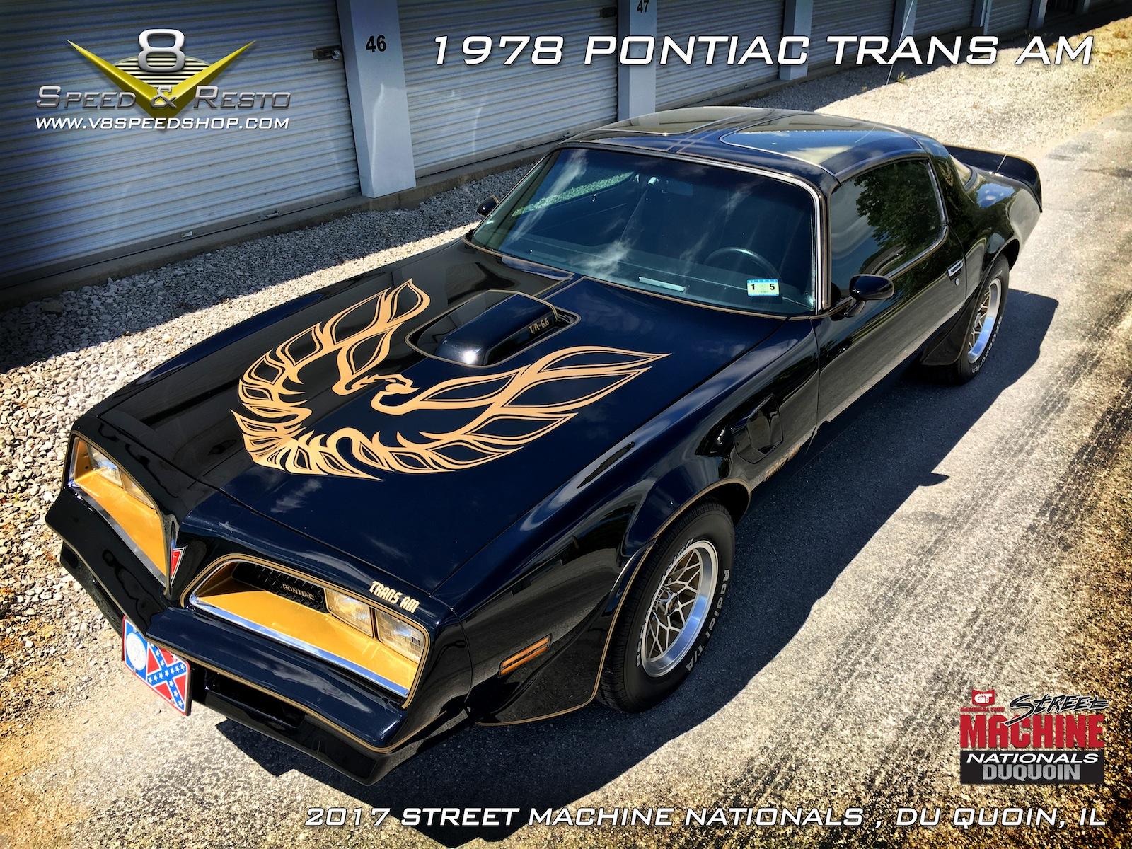 1978 Pontiac Trans Am V8 Speed And Resto DuQuoin