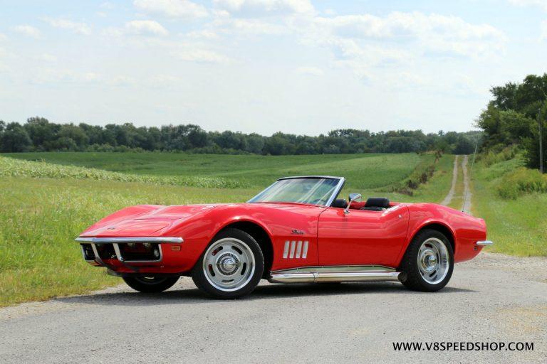 1969 Chevrolet Corvette LS3 T56 6-Speed Swap Video Series at V8 Speed & Resto Shop