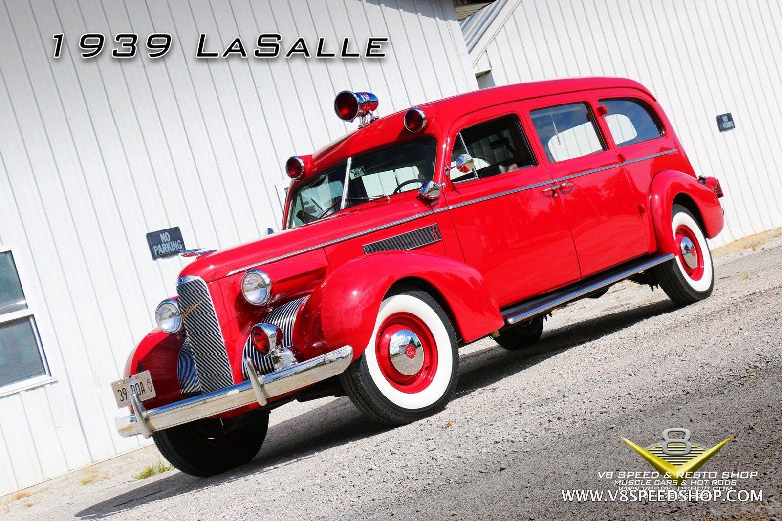 1939 LaSalle Ambulance Restoration Photo Gallery