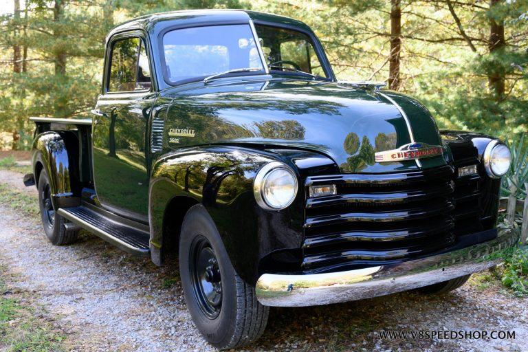 1951 Chevrolet Dump Pickup Truck Restoration Photo Gallery