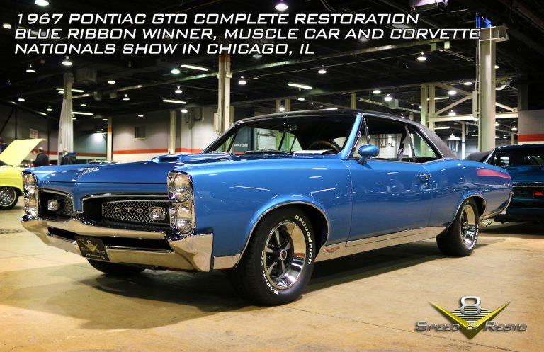 1967 Pontiac GTO Restoration Photo Gallery at V8 Speed and Resto Shop
