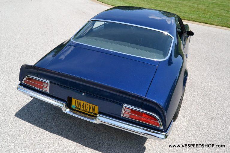 1971 Pontiac Firebird E-85 Conversion and Suspension Upgrades at V8 Speed & Resto Shop