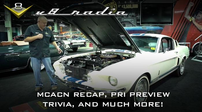 V8 Radio Podcast: Muscle Car and Corvette Nationals Recap, PRI Preview, Trivia, and More!