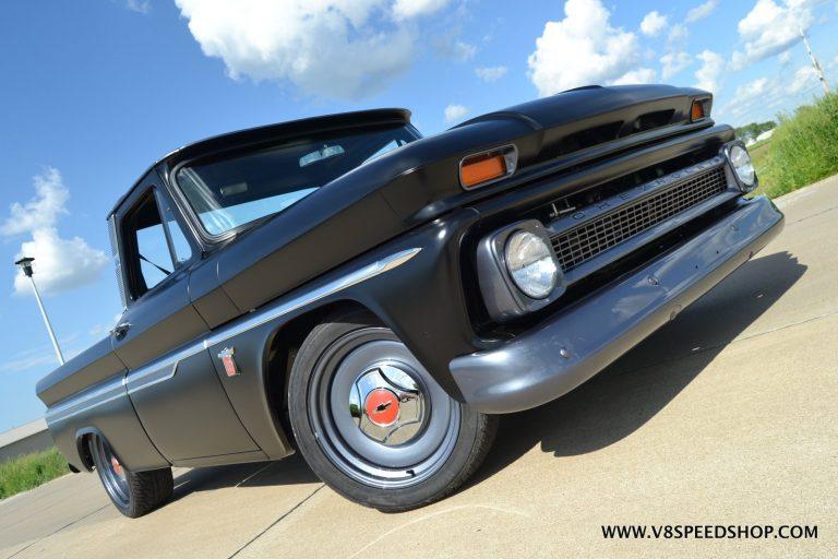 1964 Chevrolet C-10 Pickup Restoration and LS Engine Conversion at V8 Speed & Resto Shop