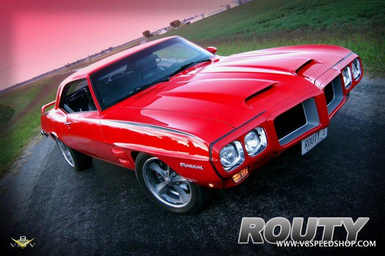 "1969 Pontiac Firebird ""Routy"" Restoration at V8 Speed & Resto Shop Photos and Video Series"