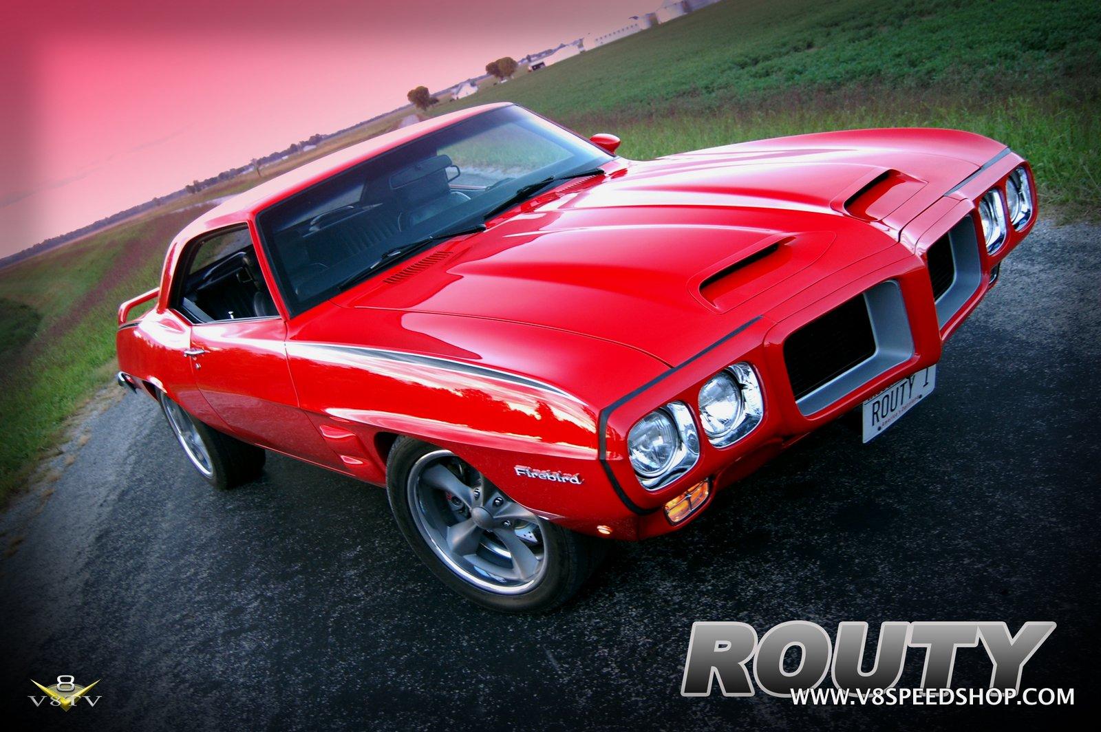 "1969 Pontiac Firebird ""Routy"" Restoration at V8 Speed & Resto Shop"