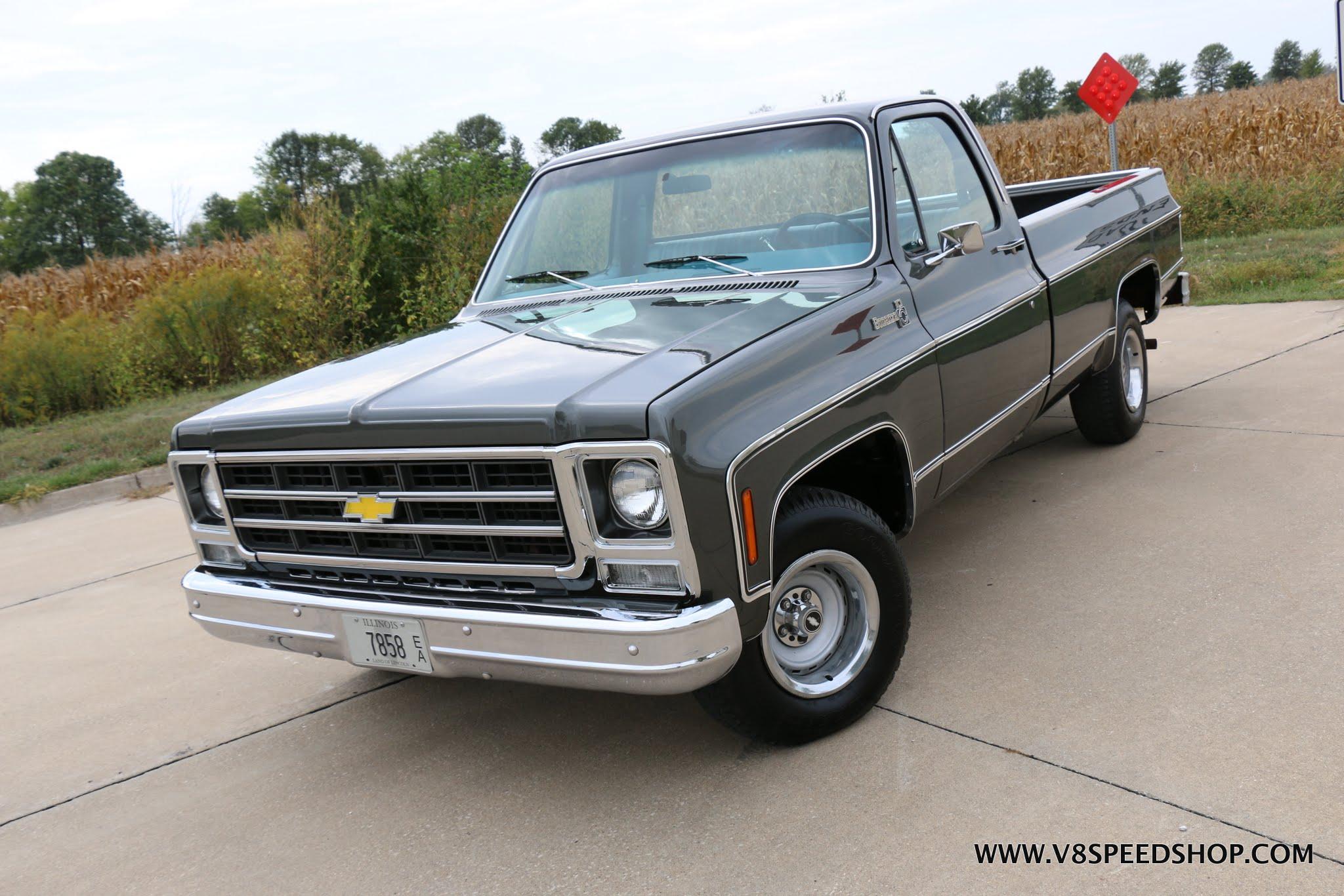 1979 Chevrolet Bonanza Pickup Restoration At V8 Speed & Resto Shop