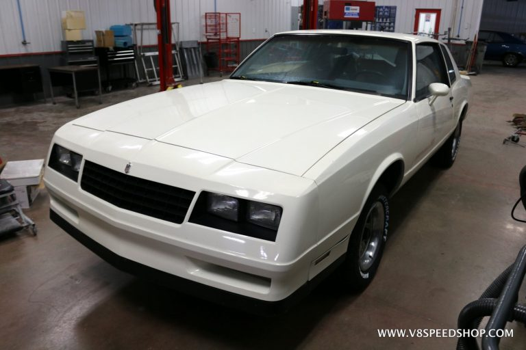 1985 Chevrolet Monte Carlo SS LS3 Engine Installation at V8 Speed and Resto Shop