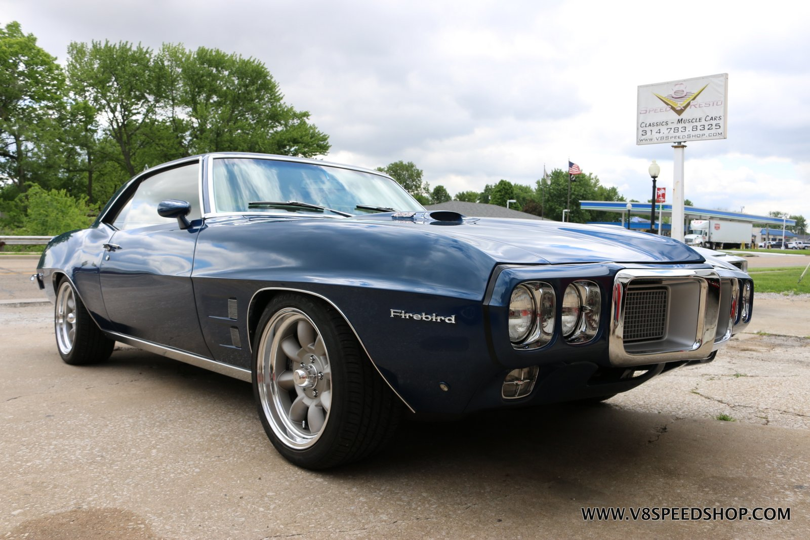 1969 Pontiac Firebird Carb and Dyno Tune at the V8 Speed and Resto Shop