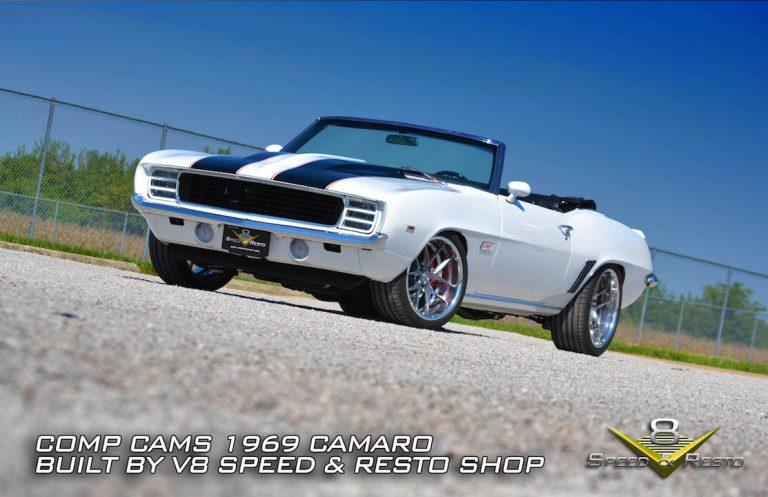 1969 Chevrolet Camaro COMP Cams 40th Anniversary Restoration at V8 Speed & Resto Shop