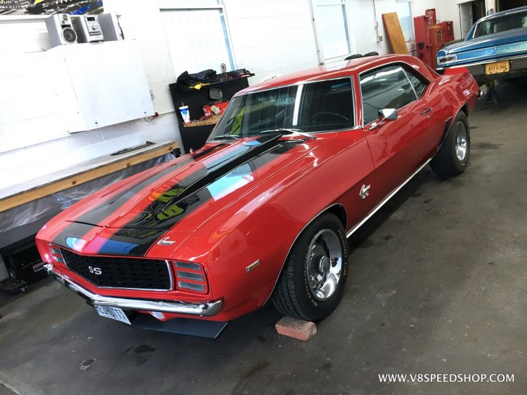 1969 Chevrolet Camaro Drivability Improvements at the V8 Speed and Resto Shop