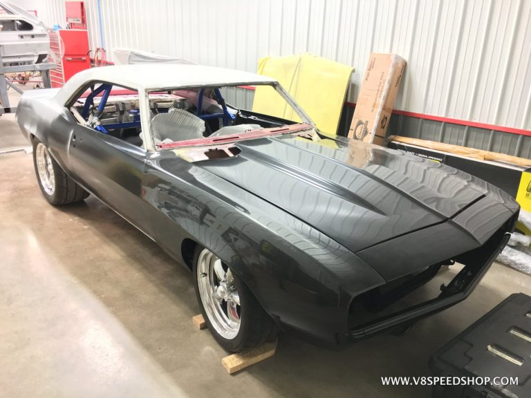 1969 Chevrolet Camaro Fabrication, Bodywork, and Paint at the V8 Speed and Resto Shop