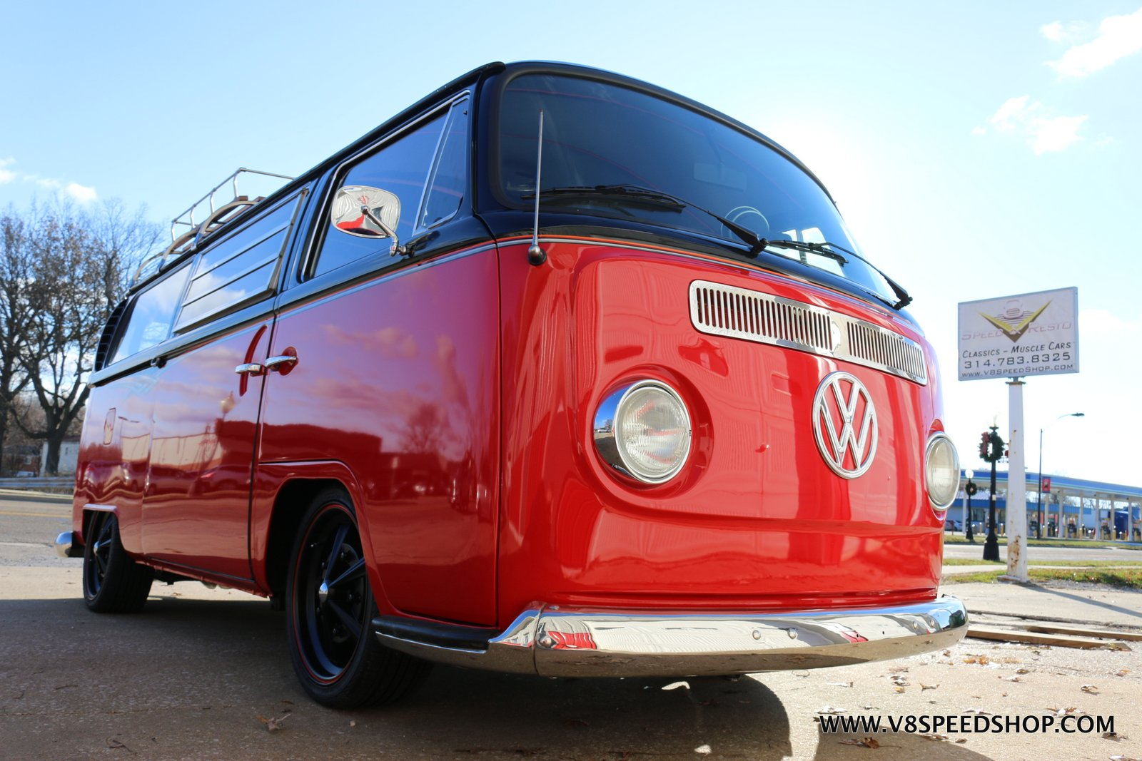 1969 VW Bus Engine Swap and Suspension Modificaitons at the V8 Speed and Resto Shop