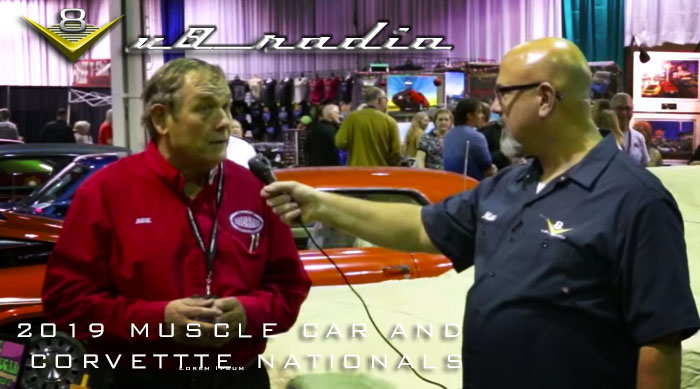 V8 Radio Podcast:  2019 Muscle Car and Corvette Nationals and the V8 Crew