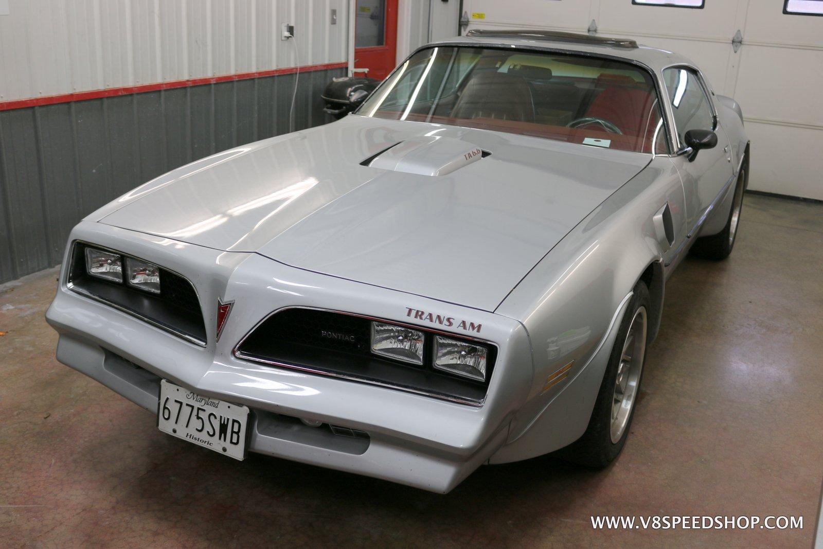 1977 Pontiac Trans Am Maintenence and Upgrades at V8 Speed & Resto Shop