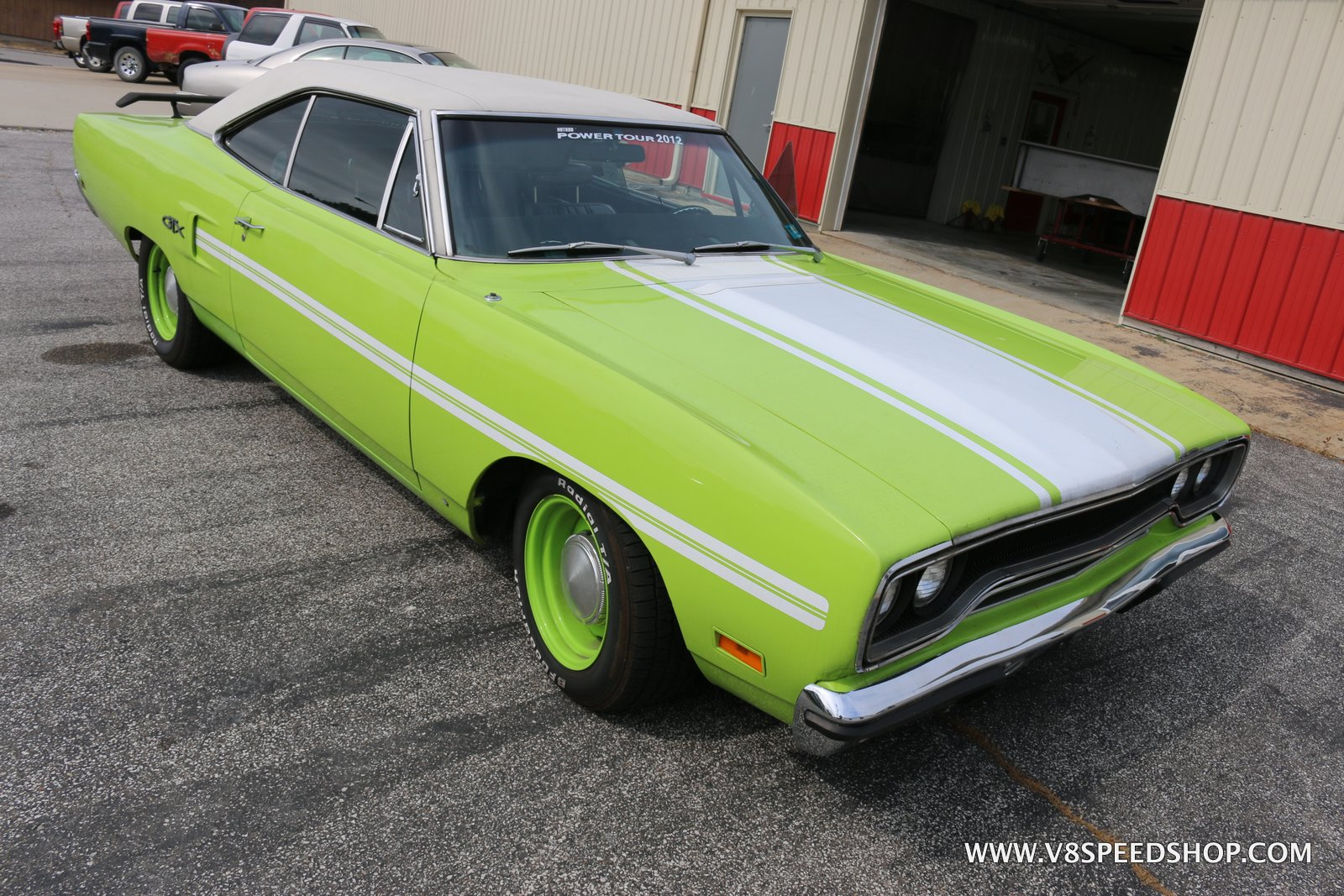 1970 Plymouth Road Runner Transformation at the V8 Speed and Resto Shop