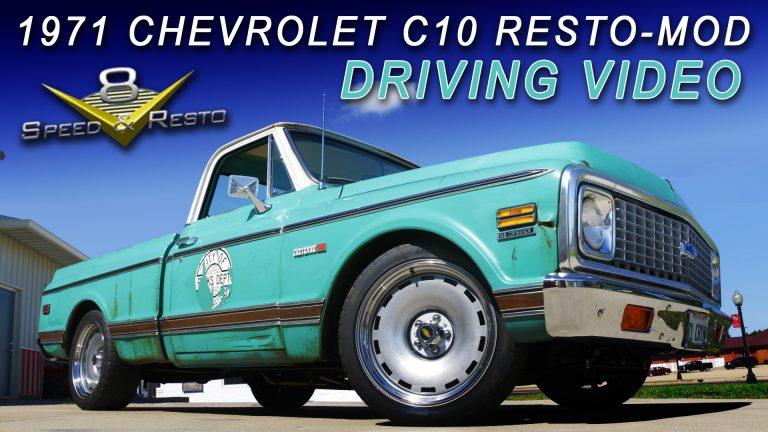 1971 Chevrolet C-10 Cheyenne Pickup Restoration At V8 Speed & Resto Shop