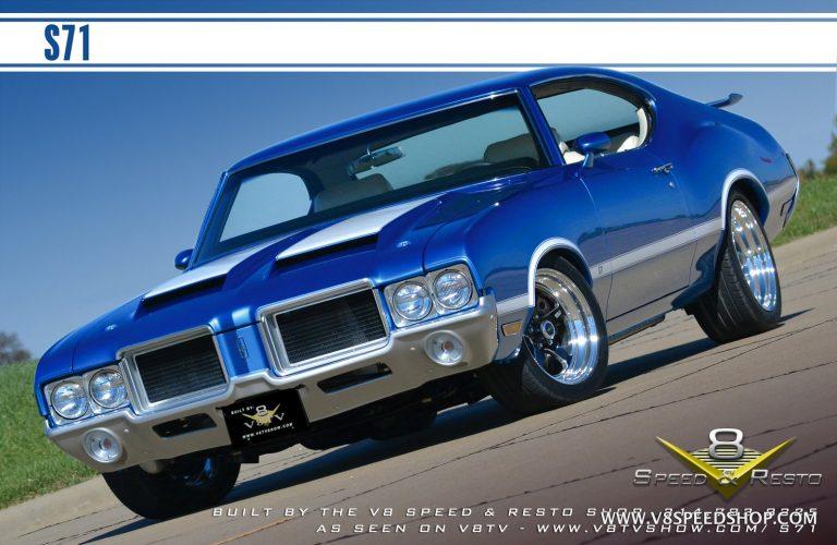 "1971 Oldsmobile Turbocharged Cutlass ""S71"" Build at V8 Speed & Resto Shop"