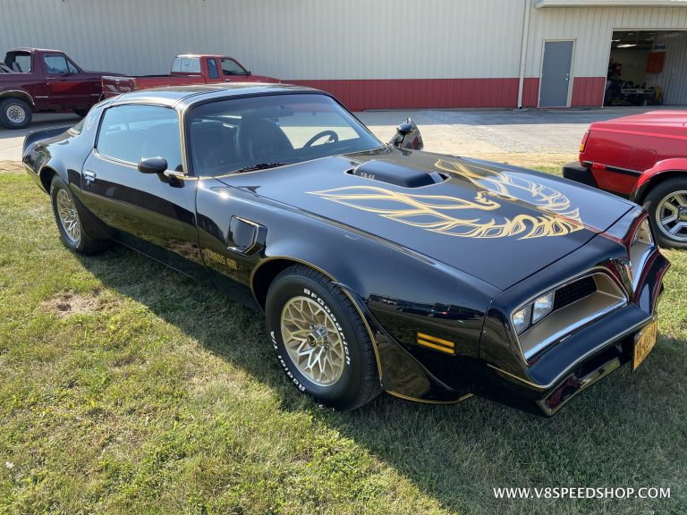 1977 Pontiac Trans Am SE Upgrades and Maintenance at V8 Speed & Resto Shop