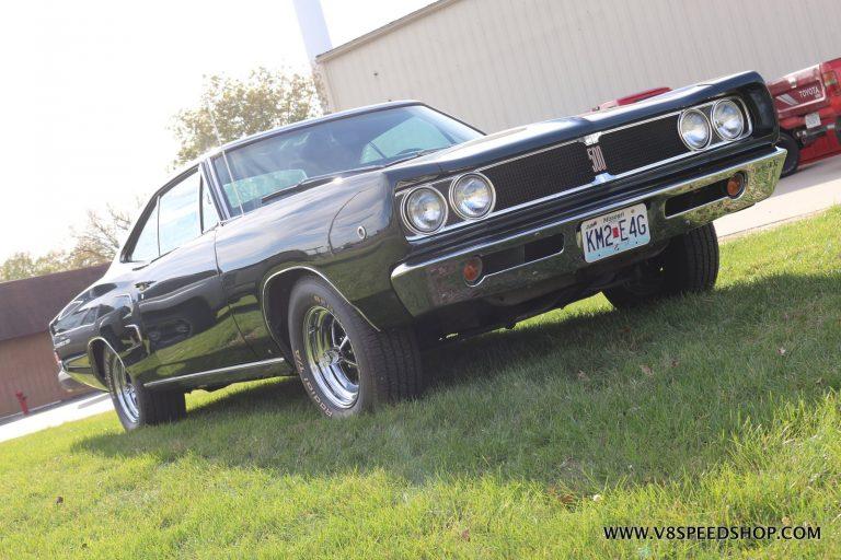 1968 Dodge Coronet 500 Engine Rebuild and Engine Bay Restoration at V8 Speed and Resto Shop Photo Gallery
