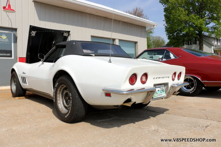 1969 Chevrolet Corvette Roadster Upgrades at the V8 Speed and Resto Shop