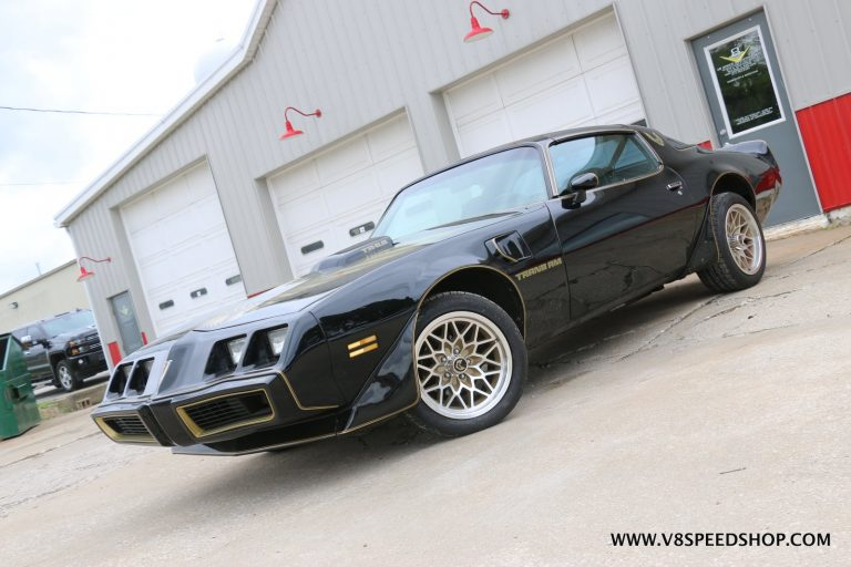 1979 Pontiac Trans Am LS3 and Supercharger Upgrades at V8 Speed and Resto Shop