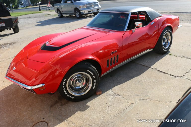 1969 Chevrolet Corvette Roadster 427 Swap at the V8 Speed and Resto Shop