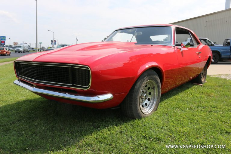 1968 Chevrolet Camaro Pro Touring Build at V8 Speed and Resto Shop