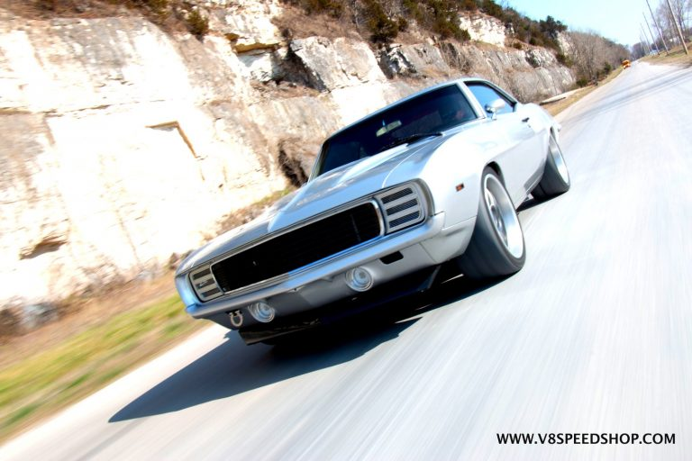 1969 Chevrolet Camaro Transforms From Big Block to Supercharged LT4 V8 at V8 Speed and Resto Shop