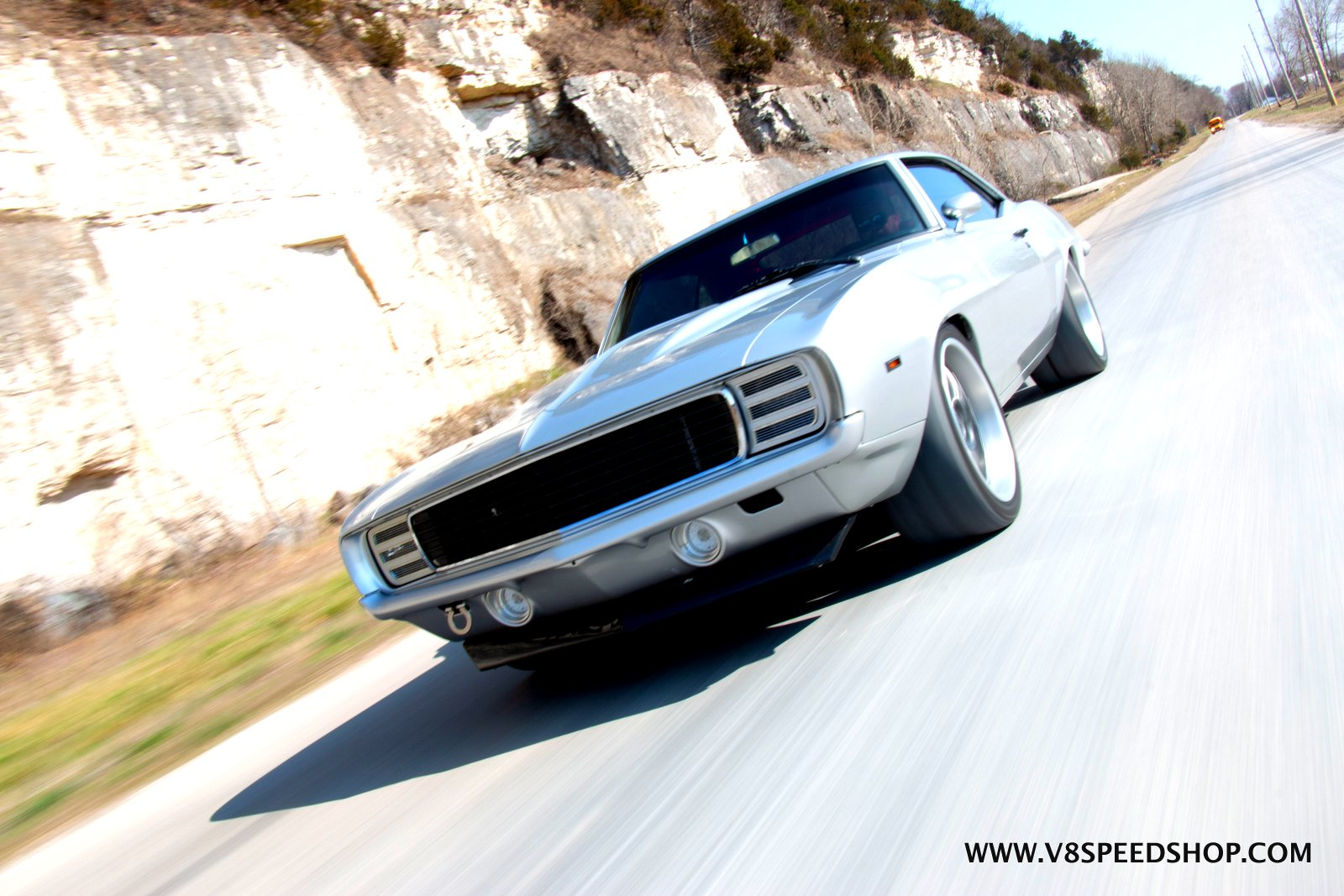 Supercharged LT4 powered 1969 Camaro at V8 Speed and Resto Shop