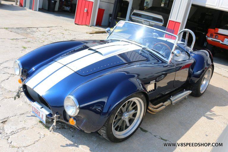 Backdraft Cobra Upgrades and Maintenance at V8 Speed and Resto Shop