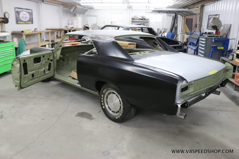 Elements of Proper Quarter Panel Replacement at the V8 Speed and Resto Shop