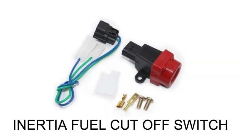 Inertia Fuel Cutoff Switches on Retrofit Fuel Injection Installs at the V8 Speed and Resto Shop