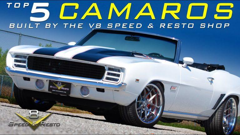 Top Camaros Built at V8 Speed and Resto Shop