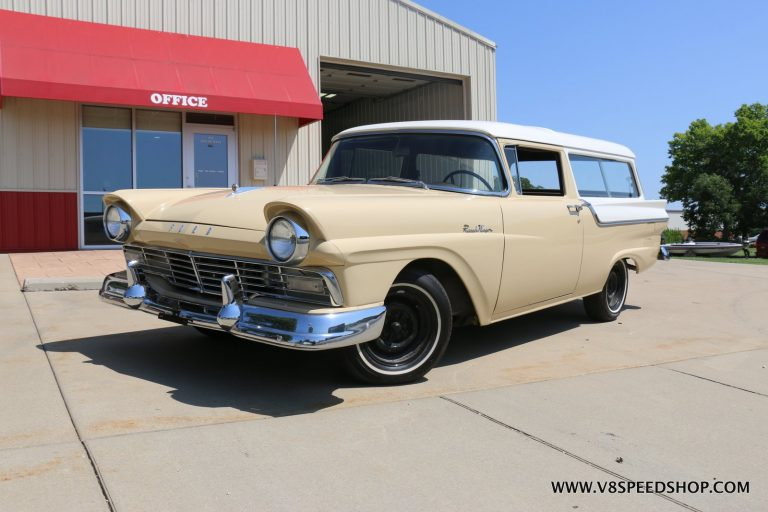1957 Ford Ranch Wagon SOHC Full Build at V8 Speed and Resto Shop Photo Gallery