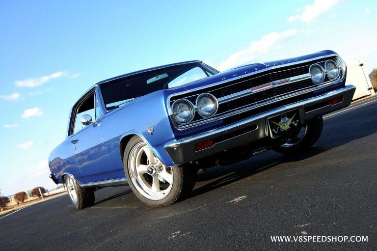 1965 Chevrolet Chevelle Malibu SS Complete Restoration at V8 Speed and Resto Shop – V8 Classic
