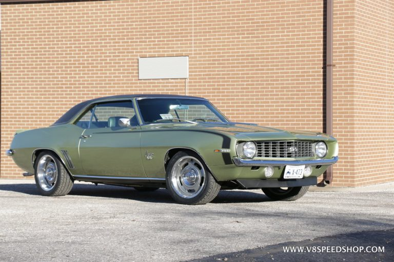 1969 Chevrolet Camaro EFI and Suspension Upgrades at the V8 Speed and Resto Shop
