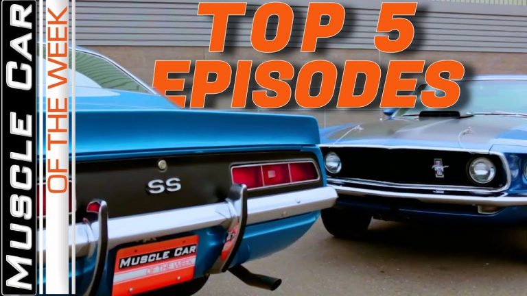 Top 5 Episodes By Play Count – Muscle Car Of The Week Video Episode 326