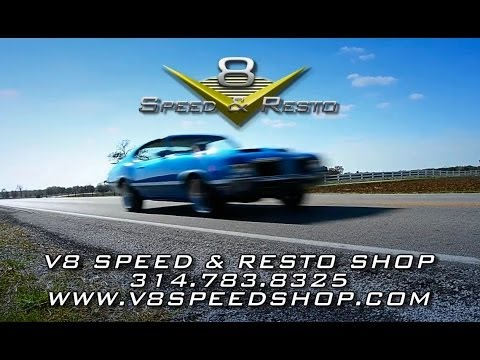 Muscle Car Restoration At The V8 Speed & Resto Shop – 314.783.8325-Video