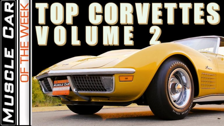 Top Corvettes Volume 2 – Muscle Car Of The Week Episode 369 V8TV