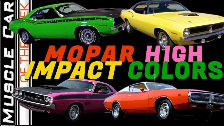Mopar High Impact Colors of 1970 – Muscle Car Of The Week Video Episode 337