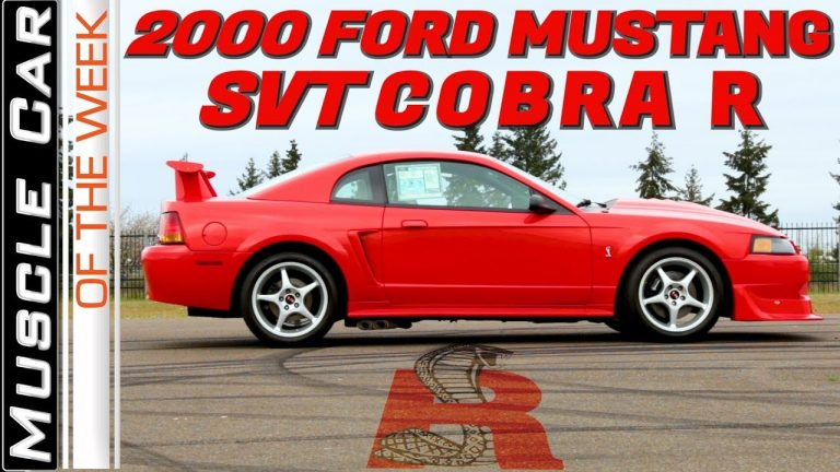 2000 Ford Mustang SVT Cobra R Muscle Car Of The Week Episode 319