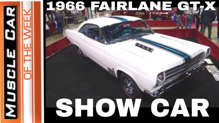 1966 Ford Fairlane GT-X A Go Show Car – Muscle Car Of The Week Episode #356