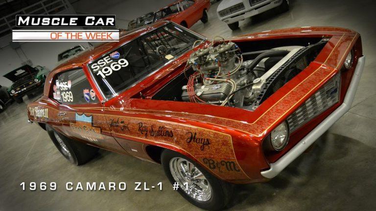 Muscle Car Of The Week Video #1: 1969 Camaro ZL-1 #1!