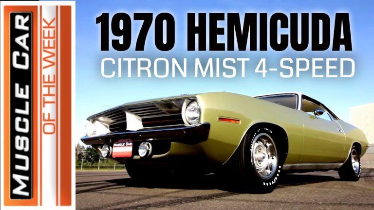1970 Plymouth Cuda 426 Hemi 4-Speed – Muscle Car Of The Week Video Episode 348